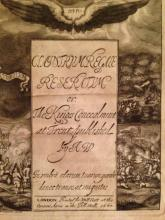 Title page of a book printed in Pall Mall, 1667