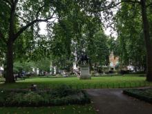 St James Square in Summer