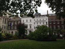Some 18c buildings in St James Square