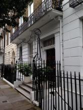 Typical buildings in Marylebone