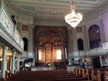 Marylebone Parish Church where the Brownings married